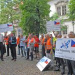 CESMAD Bohemia protest May 2016