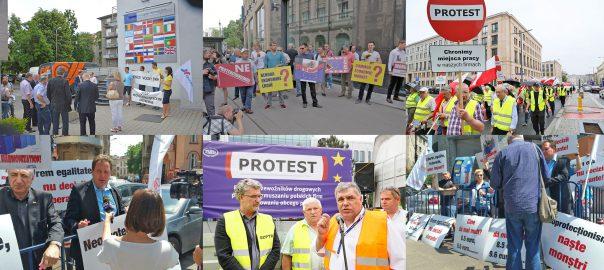 Proteste transportatori