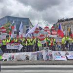 Protestul transportatorilor la Bruxelles, iunie 2016